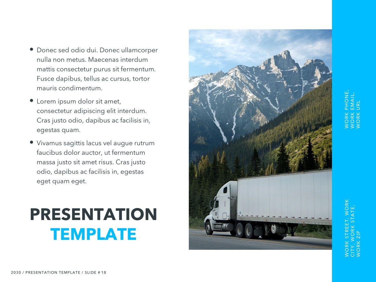 Logistics PowerPoint Theme, Slide 19, 05204, Presentation Templates — PoweredTemplate.com