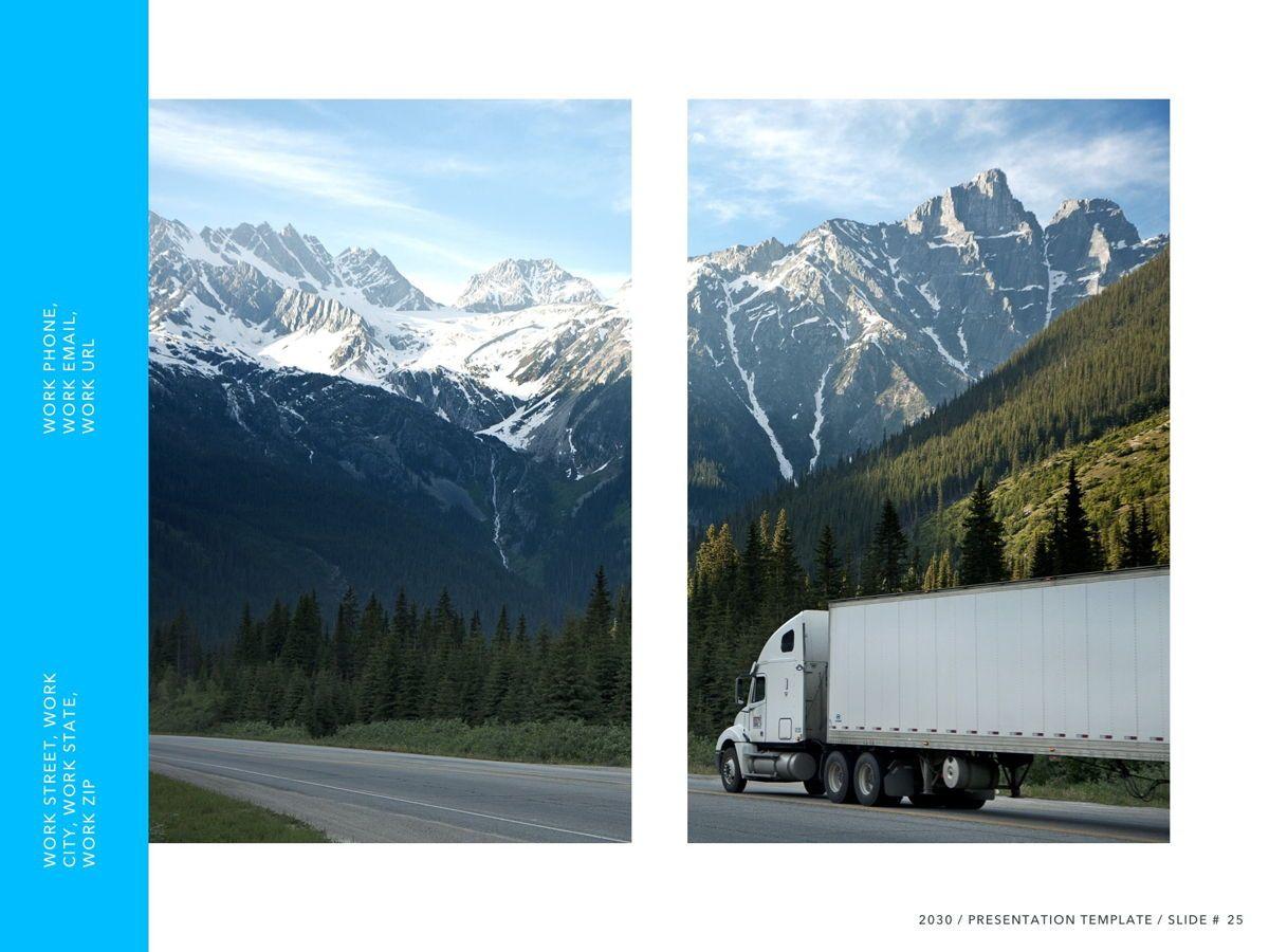 Logistics PowerPoint Theme, Slide 26, 05204, Presentation Templates — PoweredTemplate.com