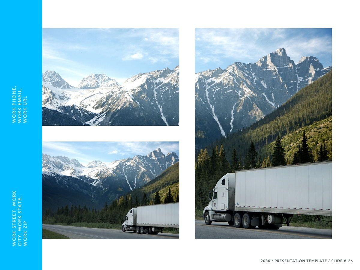 Logistics PowerPoint Theme, Slide 27, 05204, Presentation Templates — PoweredTemplate.com