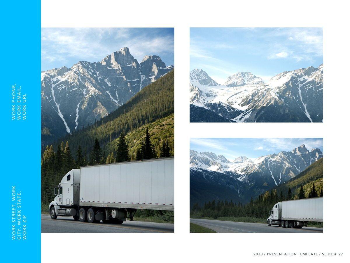 Logistics PowerPoint Theme, Slide 28, 05204, Presentation Templates — PoweredTemplate.com