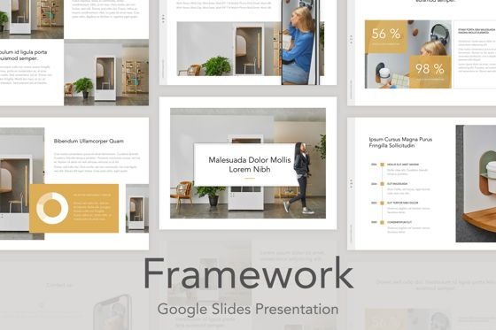 Presentation Templates: Framework Google Slides Template #05207