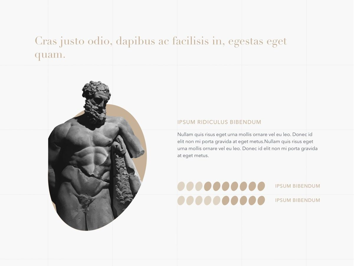 Antique PowerPoint Template, Slide 10, 05210, Education Charts and Diagrams — PoweredTemplate.com