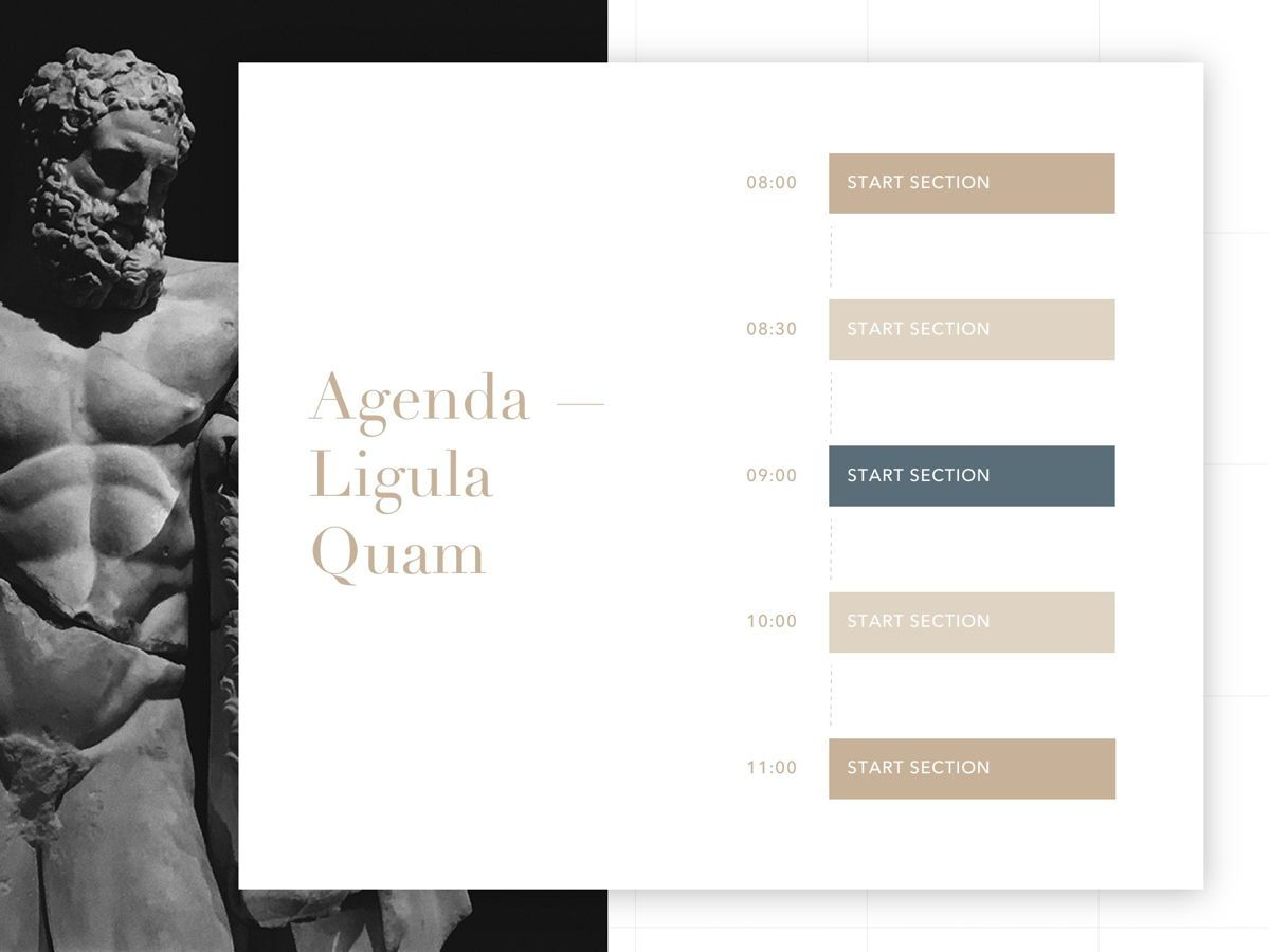 Antique PowerPoint Template, Slide 12, 05210, Education Charts and Diagrams — PoweredTemplate.com