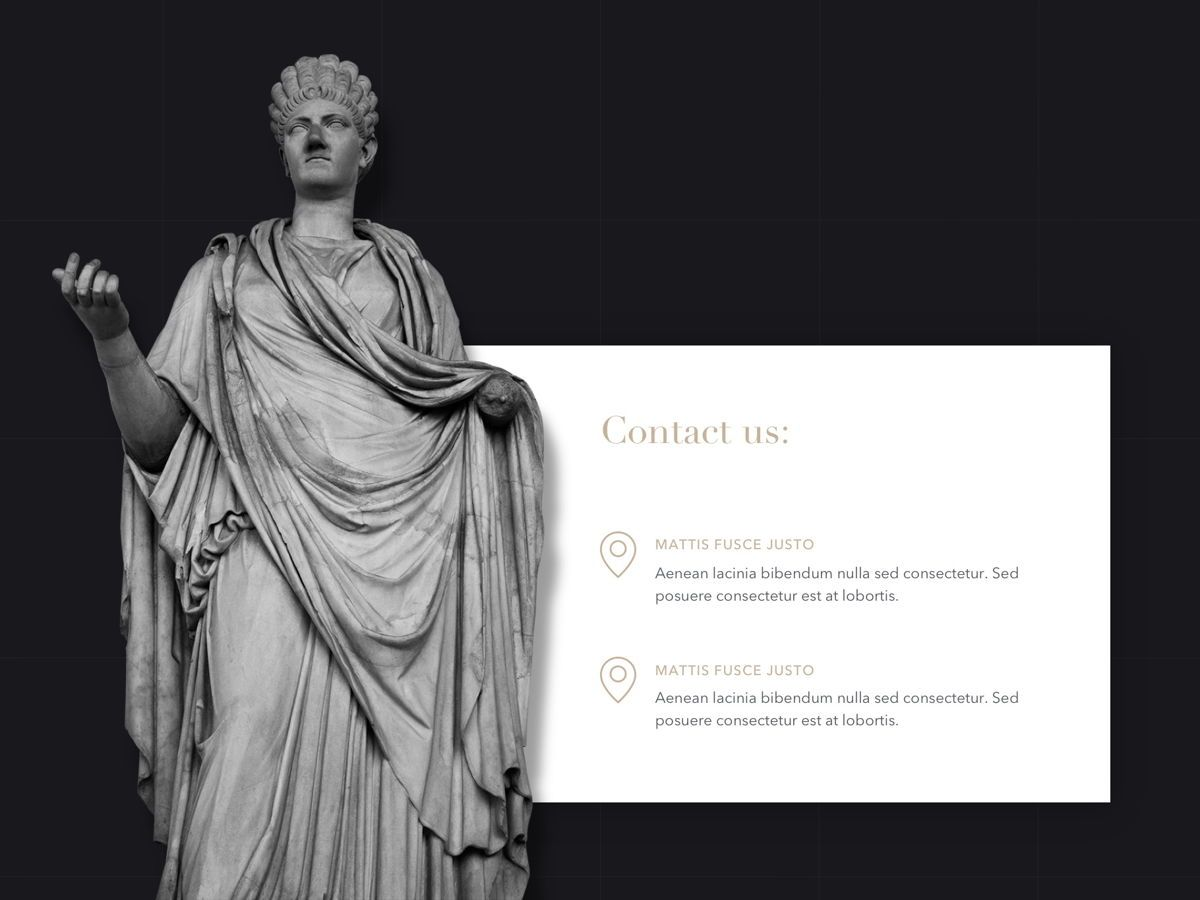 Antique PowerPoint Template, Slide 20, 05210, Education Charts and Diagrams — PoweredTemplate.com