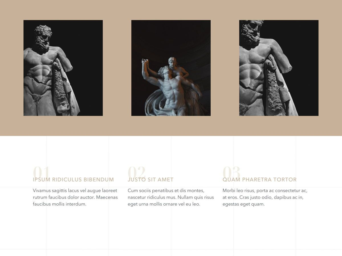 Antique PowerPoint Template, Slide 8, 05210, Education Charts and Diagrams — PoweredTemplate.com