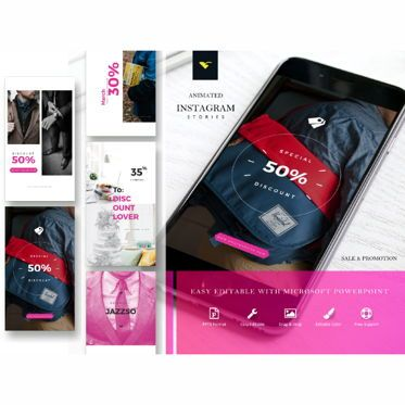 Presentation Templates: Instagram stories sale collection #05218