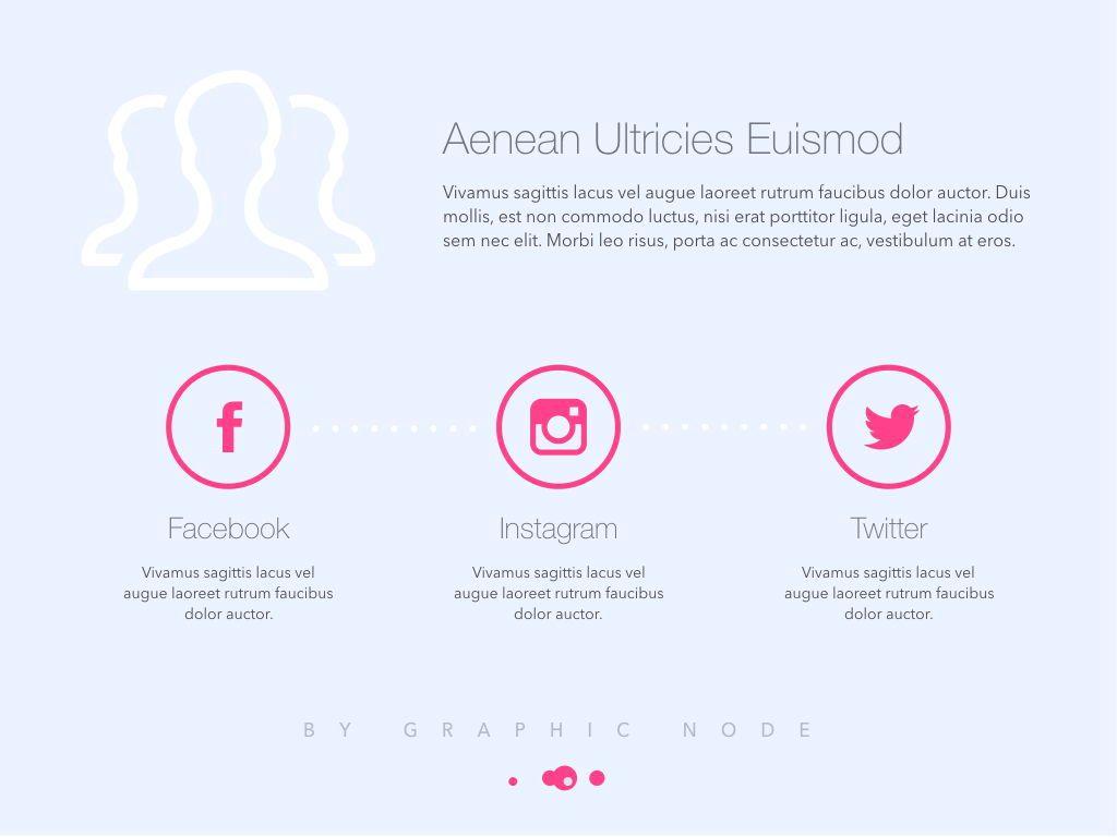Social Expertise Google Slides Presentation Template, Slide 4, 05235, Presentation Templates — PoweredTemplate.com