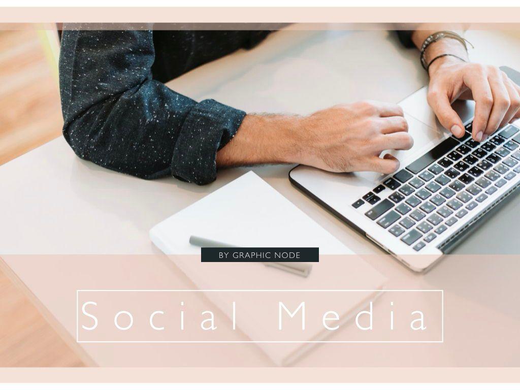 Social Media Showcase Google Slides Presentation Template, 05238, Presentation Templates — PoweredTemplate.com