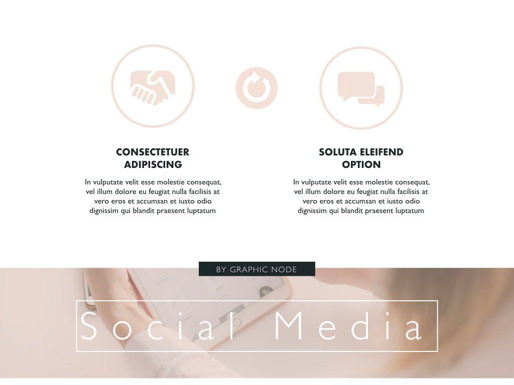 Social Media Showcase Google Slides Presentation Template, Slide 5, 05238, Presentation Templates — PoweredTemplate.com