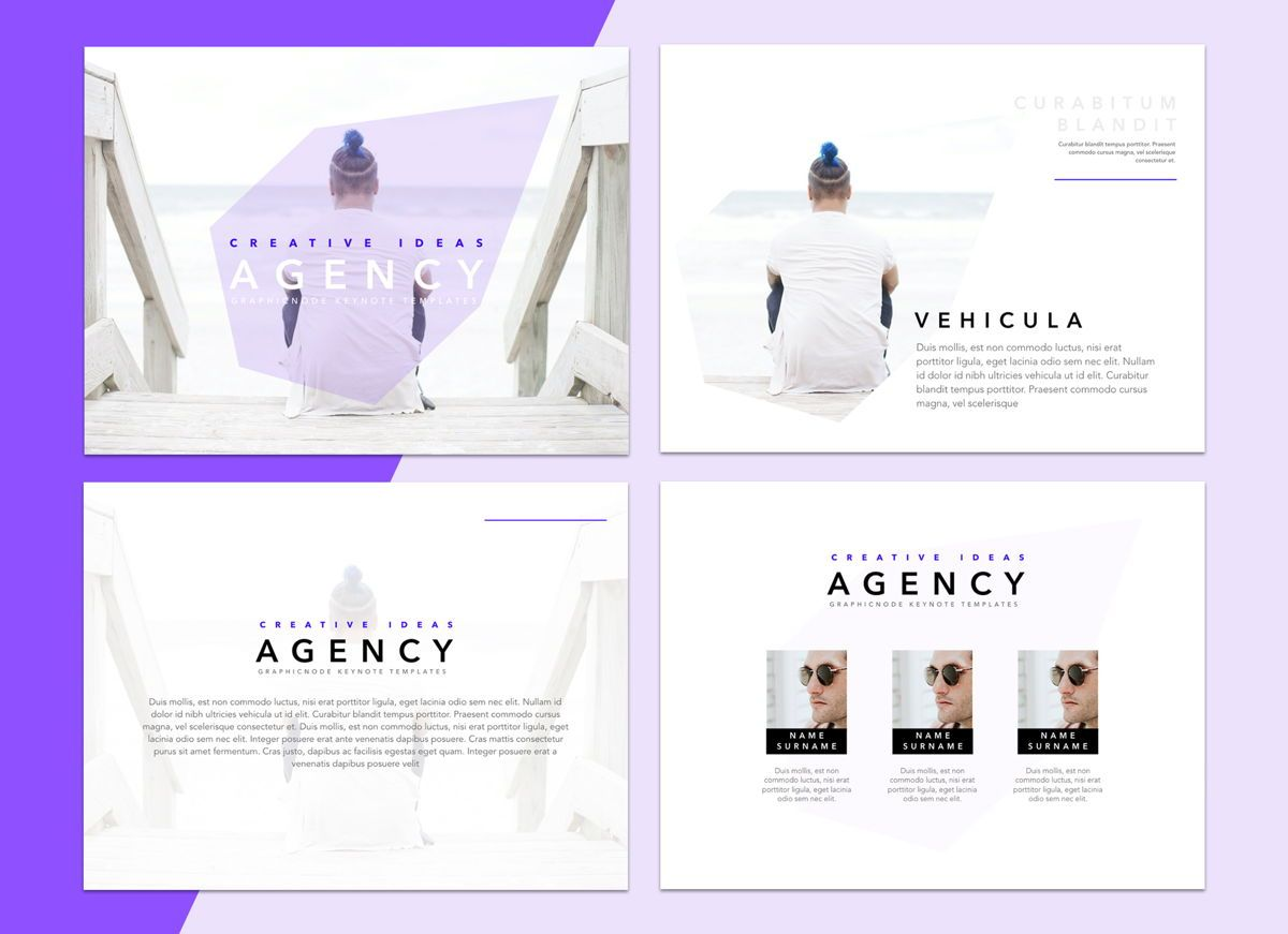 Socialite Google Slides Presentation Template, Slide 3, 05239, Presentation Templates — PoweredTemplate.com