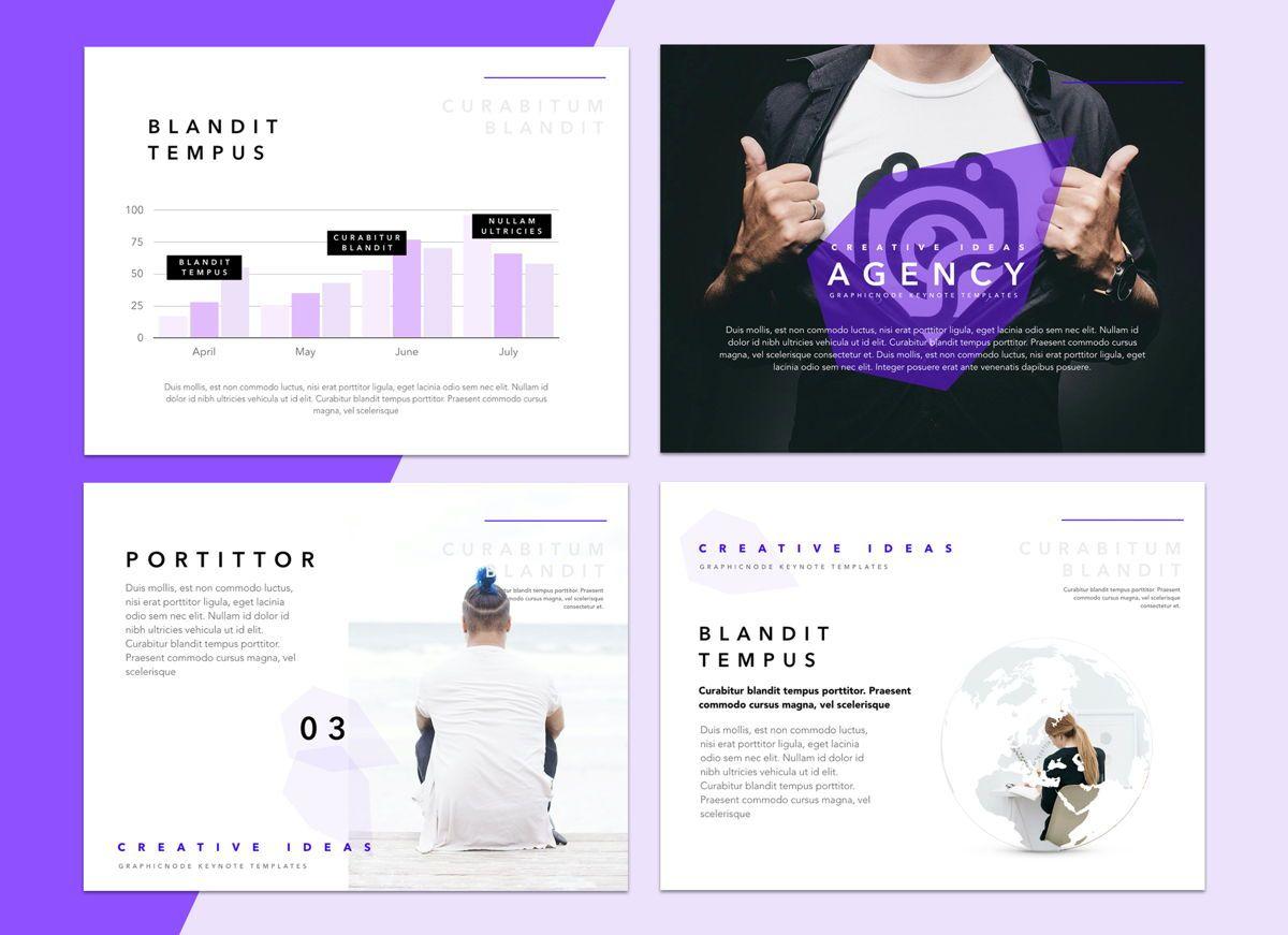 Socialite Google Slides Presentation Template, Slide 7, 05239, Presentation Templates — PoweredTemplate.com