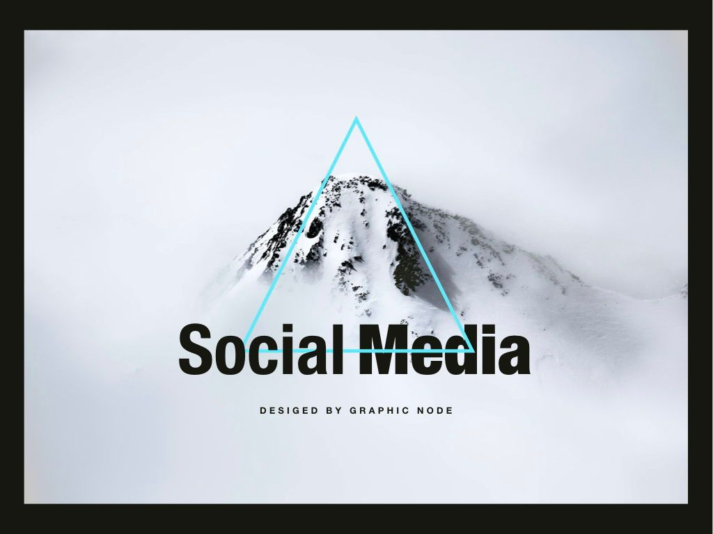 Top Social Google Slides Presentation Template, 05247, Presentation Templates — PoweredTemplate.com