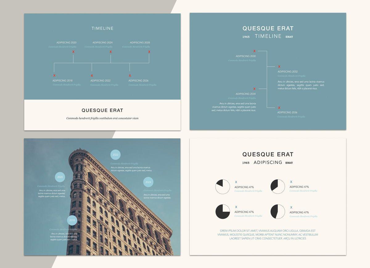 Urban Blues Google Slides Presentation Template, Slide 3, 05252, Presentation Templates — PoweredTemplate.com