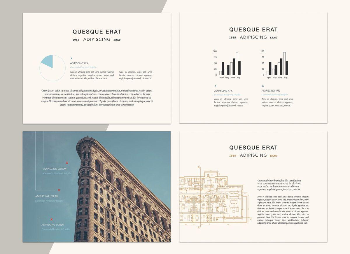 Urban Blues Google Slides Presentation Template, Slide 4, 05252, Presentation Templates — PoweredTemplate.com