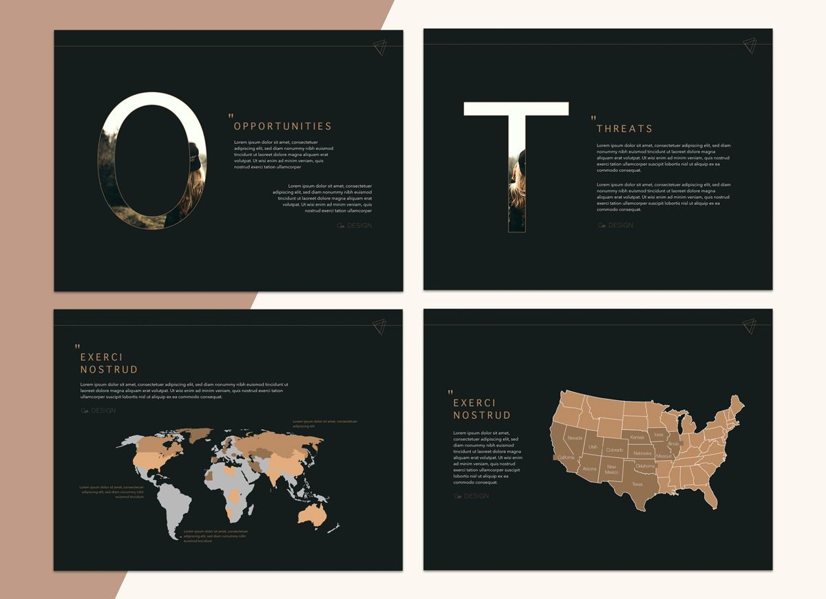 Urban Fashion Google Slides Presentation Template, Slide 2, 05253, Presentation Templates — PoweredTemplate.com