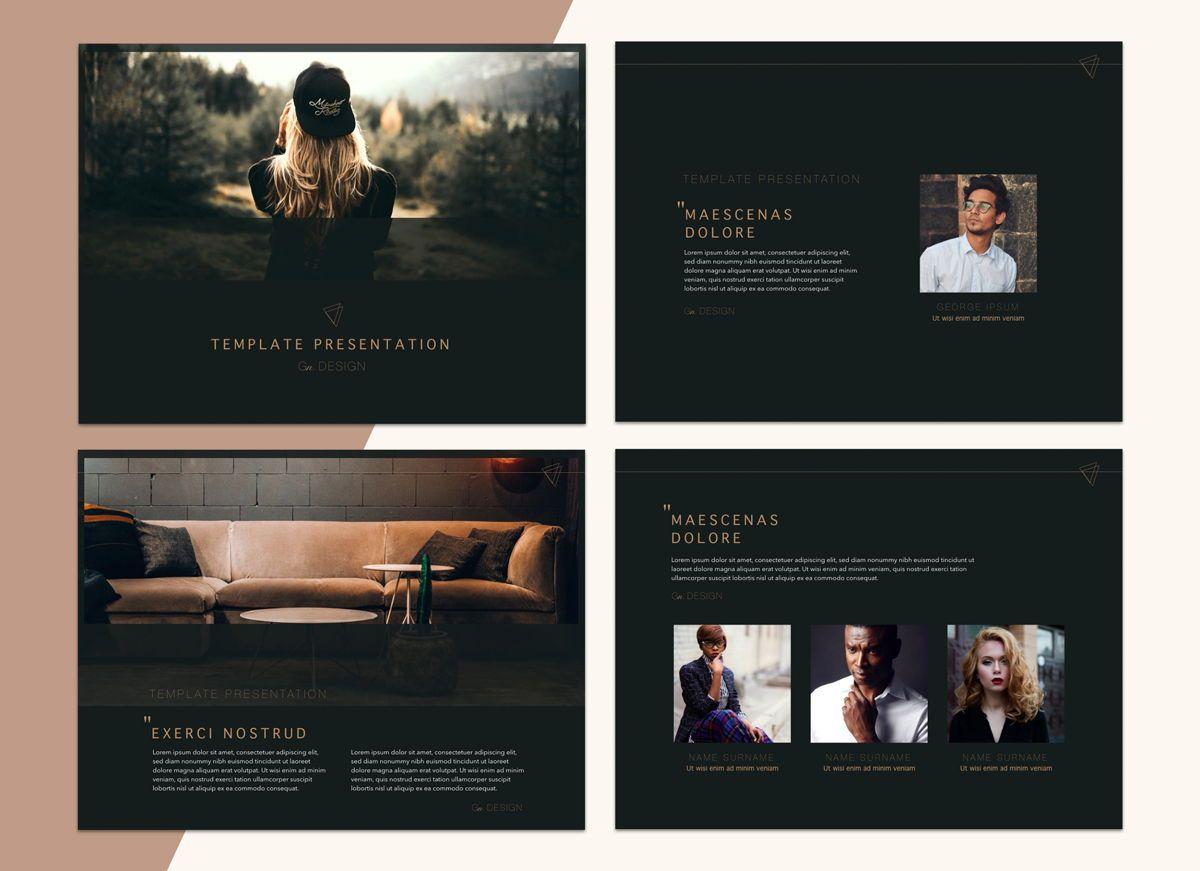 Urban Fashion Google Slides Presentation Template, Slide 3, 05253, Presentation Templates — PoweredTemplate.com