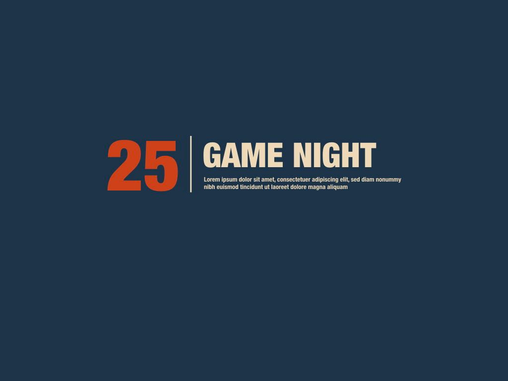 Game Night Keynote Presentation Template, Slide 19, 05258, Presentation Templates — PoweredTemplate.com