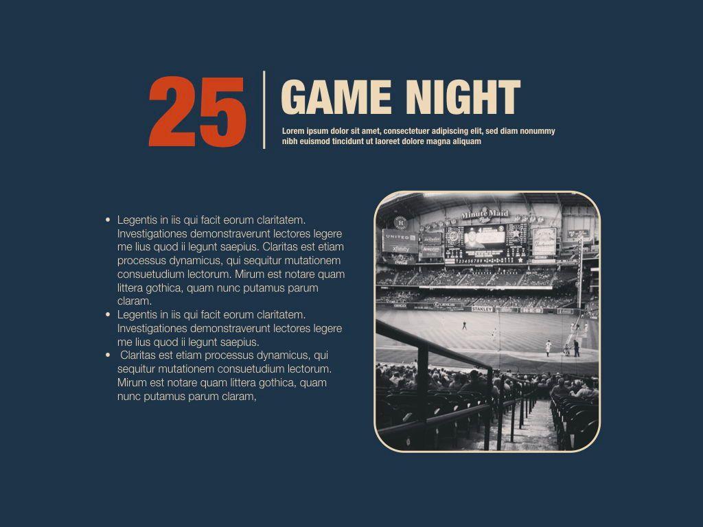 Game Night Keynote Presentation Template, Slide 8, 05258, Presentation Templates — PoweredTemplate.com