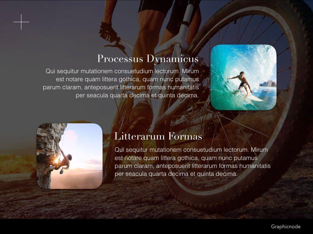 Inclined Keynote Presentation Template, Slide 5, 05260, Presentation Templates — PoweredTemplate.com