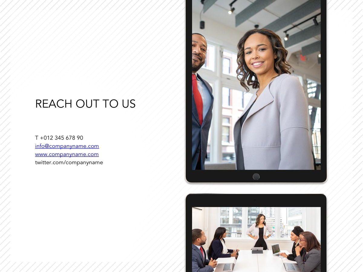 Corporate Google Slides Template, Slide 20, 05269, Presentation Templates — PoweredTemplate.com