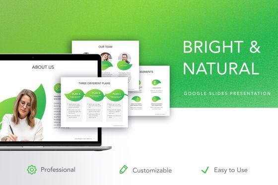 Presentation Templates: Bright and Natural Google Slides Template #05270