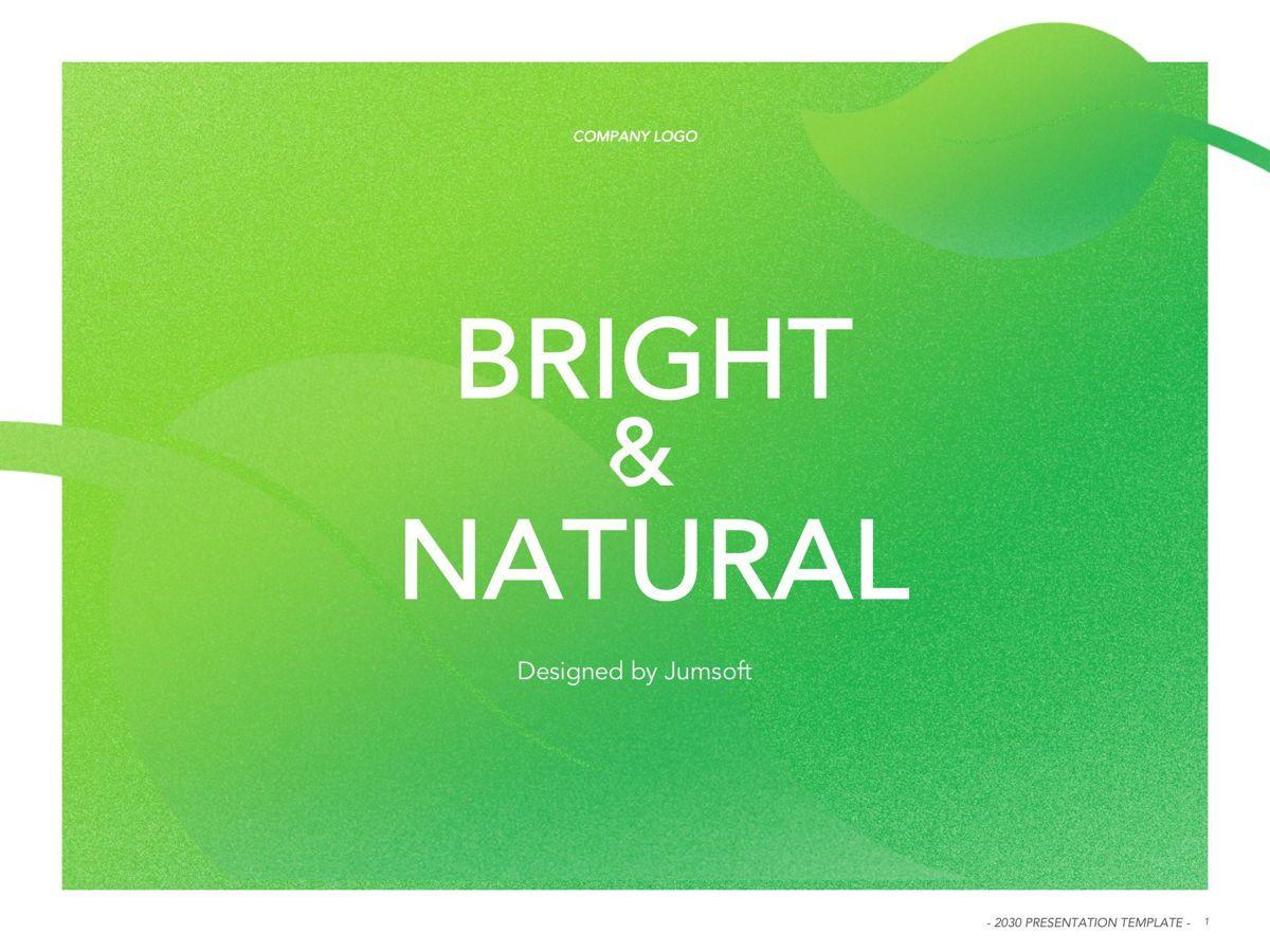 Bright and Natural Google Slides Template, Dia 2, 05270, Presentatie Templates — PoweredTemplate.com