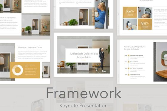 Presentation Templates: Framework Keynote Template #05271