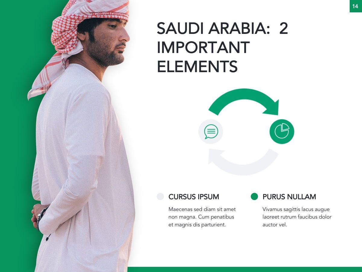 Country Saudi Arabia Google Slides Template, Slide 15, 05277, Presentation Templates — PoweredTemplate.com