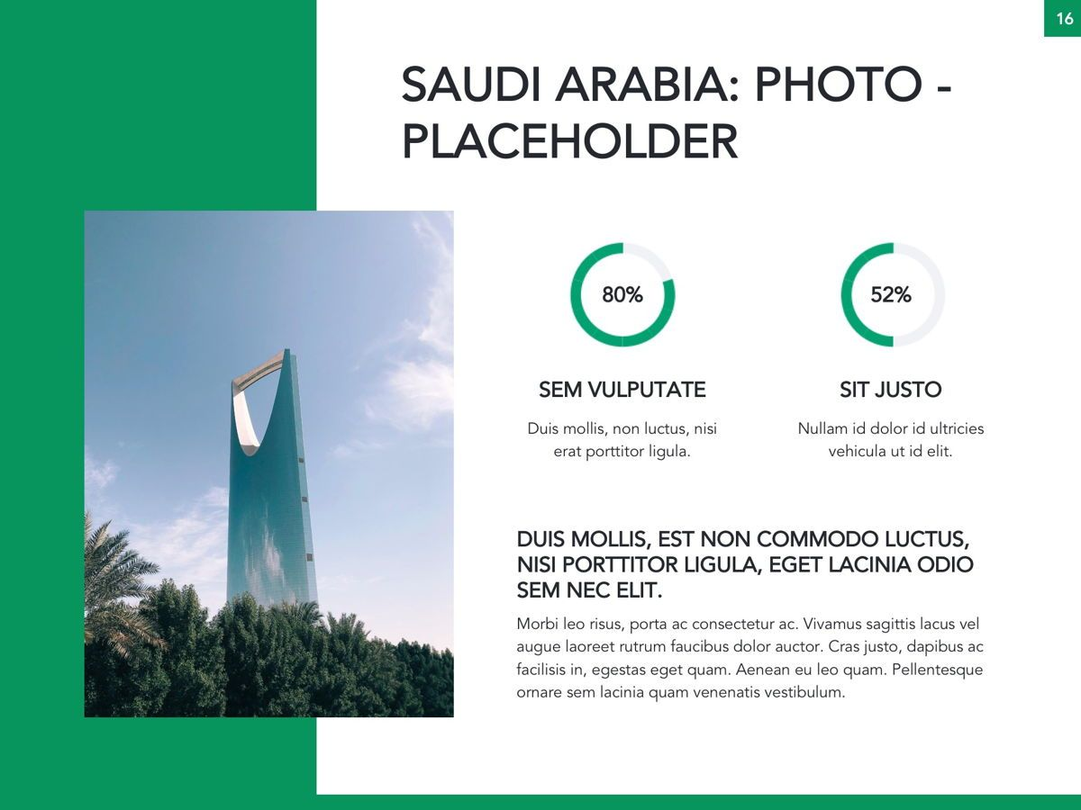 Country Saudi Arabia Google Slides Template, Slide 17, 05277, Presentation Templates — PoweredTemplate.com