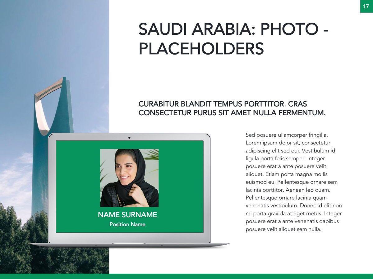 Country Saudi Arabia Google Slides Template, Slide 18, 05277, Presentation Templates — PoweredTemplate.com
