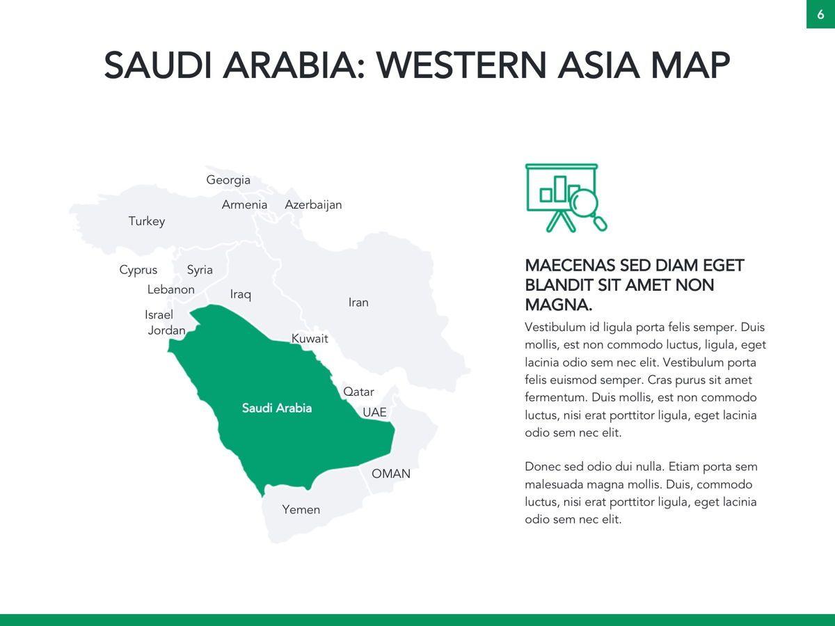 Country Saudi Arabia Google Slides Template, Slide 7, 05277, Presentation Templates — PoweredTemplate.com