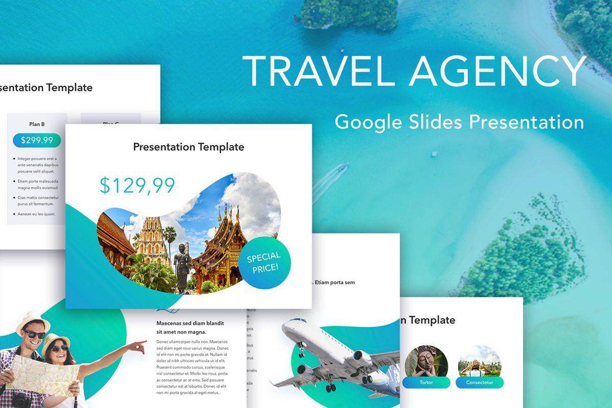Travel Agency Google Slides, 05279, Presentation Templates — PoweredTemplate.com