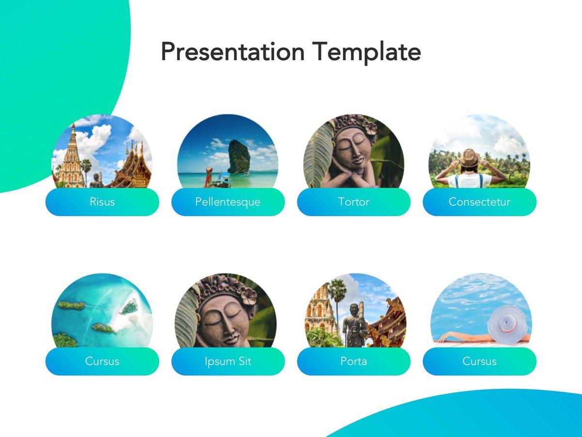 Travel Agency Google Slides, Slide 12, 05279, Presentation Templates — PoweredTemplate.com