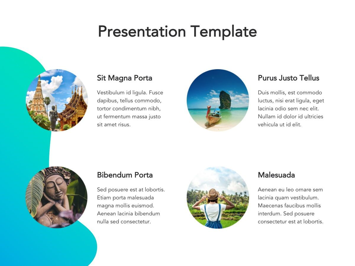 Travel Agency Google Slides, Slide 13, 05279, Presentation Templates — PoweredTemplate.com