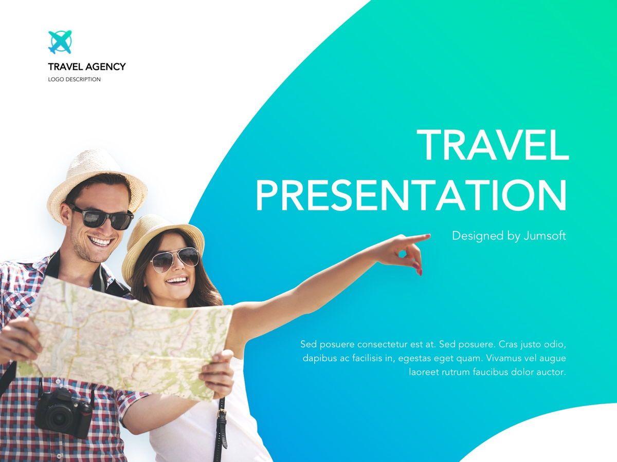 Travel Agency Google Slides, Slide 2, 05279, Presentation Templates — PoweredTemplate.com