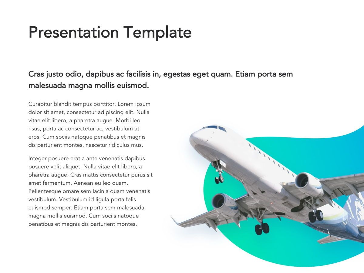 Travel Agency Google Slides, Slide 7, 05279, Presentation Templates — PoweredTemplate.com