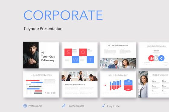 Presentation Templates: Corporate Keynote Template #05280