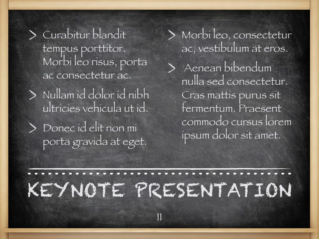 The Chalkdust Keynote Template, Slide 12, 05282, Education Charts and Diagrams — PoweredTemplate.com
