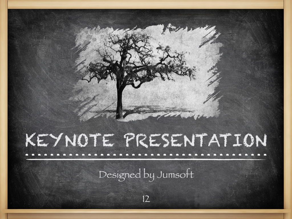 The Chalkdust Keynote Template, Slide 13, 05282, Education Charts and Diagrams — PoweredTemplate.com
