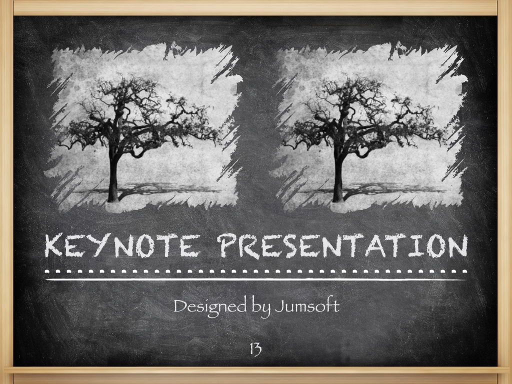 The Chalkdust Keynote Template, Slide 14, 05282, Education Charts and Diagrams — PoweredTemplate.com
