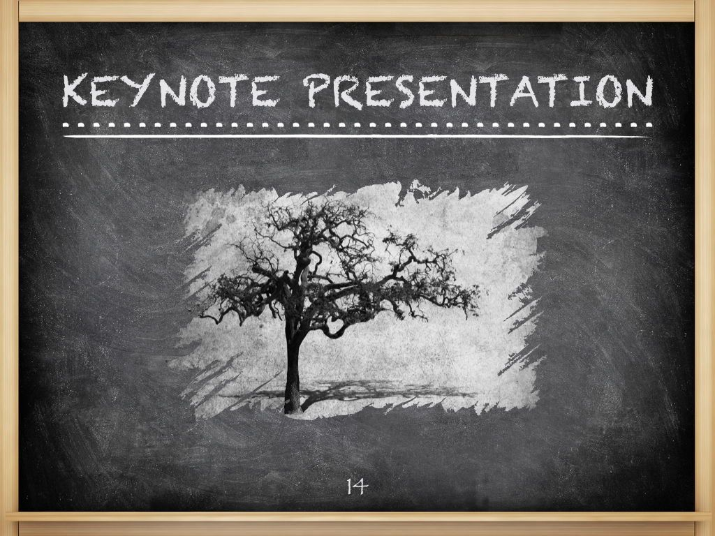 The Chalkdust Keynote Template, Slide 15, 05282, Education Charts and Diagrams — PoweredTemplate.com