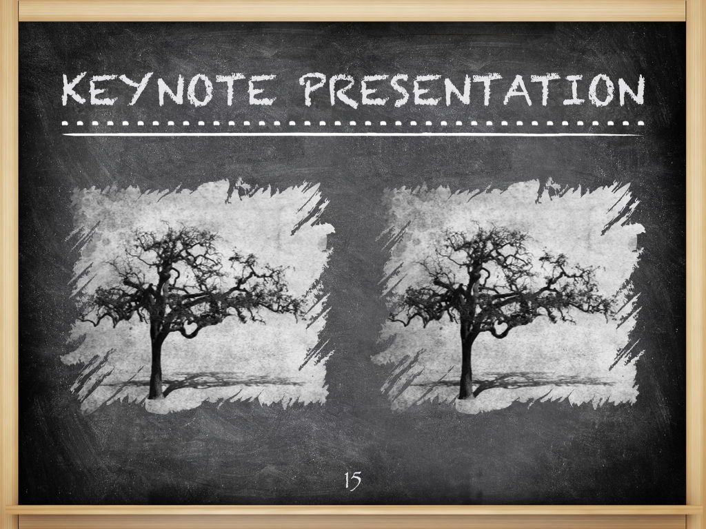The Chalkdust Keynote Template, Slide 16, 05282, Education Charts and Diagrams — PoweredTemplate.com