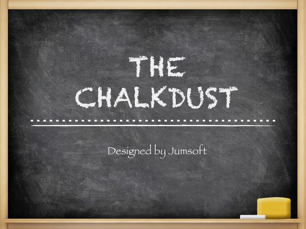 The Chalkdust Keynote Template, Slide 2, 05282, Education Charts and Diagrams — PoweredTemplate.com
