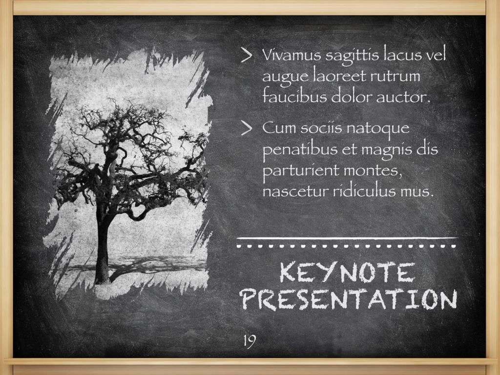 The Chalkdust Keynote Template, Slide 20, 05282, Education Charts and Diagrams — PoweredTemplate.com
