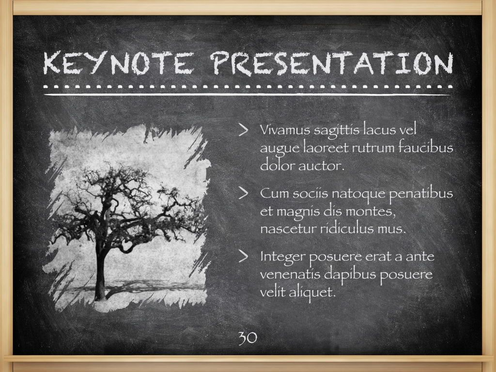 The Chalkdust Keynote Template, Slide 31, 05282, Education Charts and Diagrams — PoweredTemplate.com