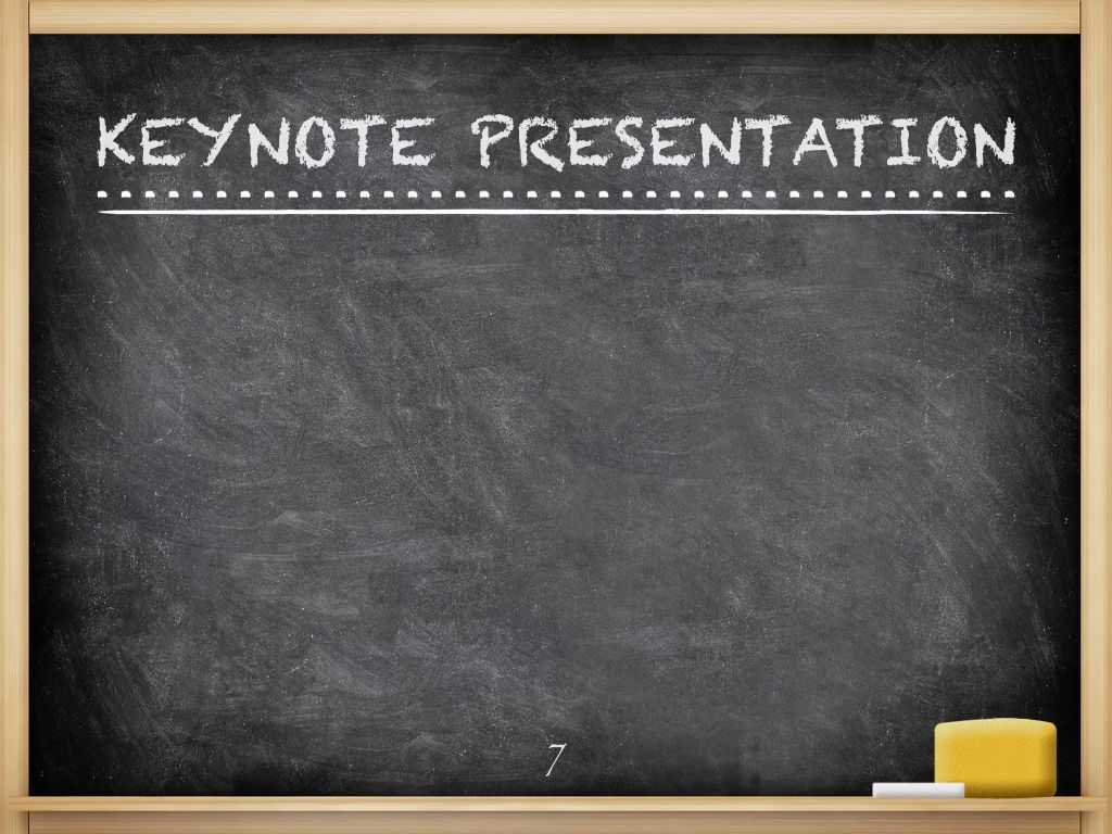 The Chalkdust Keynote Template, Slide 8, 05282, Education Charts and Diagrams — PoweredTemplate.com