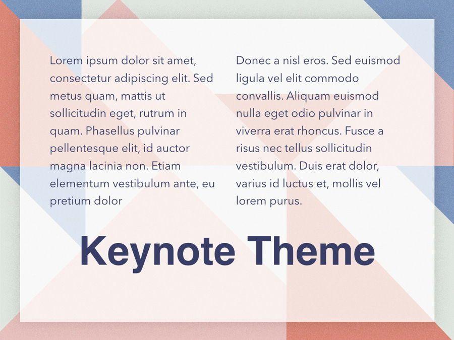 Color Patch Keynote Template, Slide 12, 05283, Presentation Templates — PoweredTemplate.com