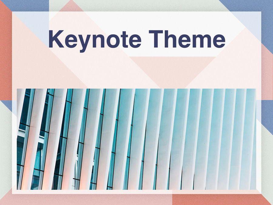 Color Patch Keynote Template, Slide 15, 05283, Presentation Templates — PoweredTemplate.com