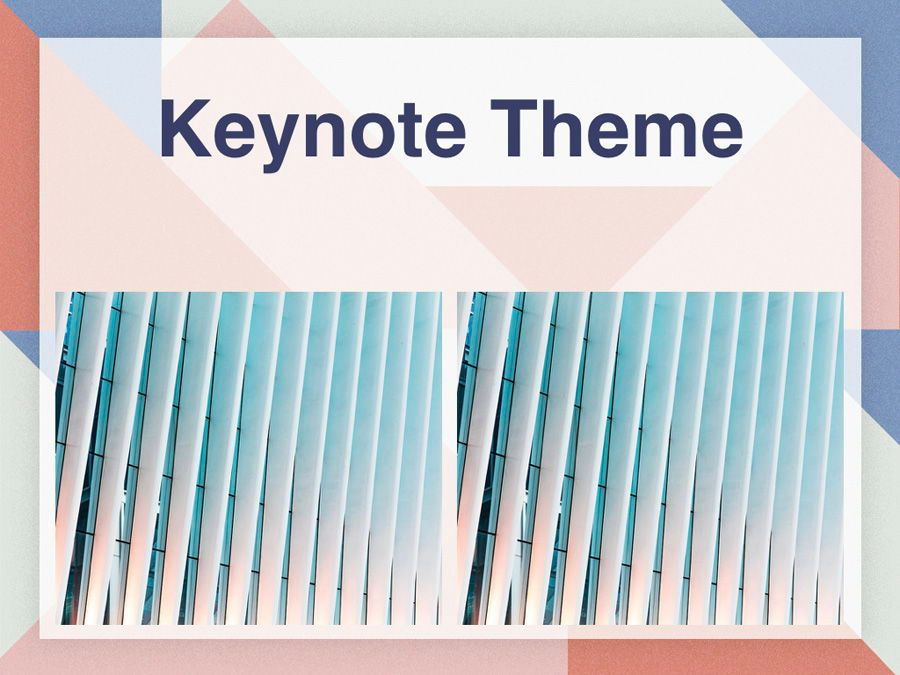 Color Patch Keynote Template, Slide 16, 05283, Presentation Templates — PoweredTemplate.com
