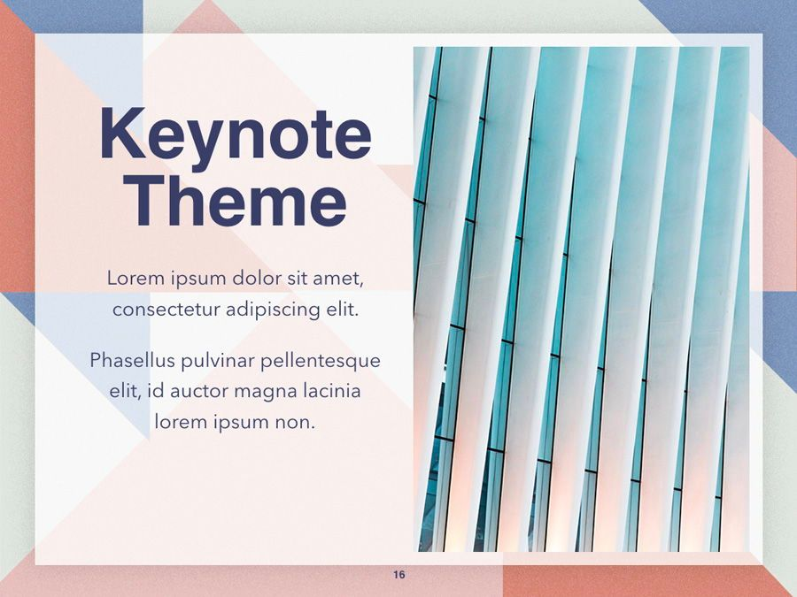 Color Patch Keynote Template, Slide 17, 05283, Presentation Templates — PoweredTemplate.com